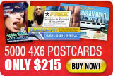 postcard offer 5000 for $215